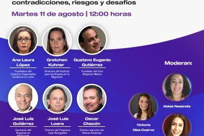 Foro: El derecho humano a la movilidad y la nueva política migratoria en México