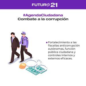 combate a la corrupción agenda ciudadana