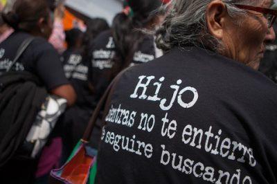 Desaparición forzada en México: la voluntad política no es suficiente