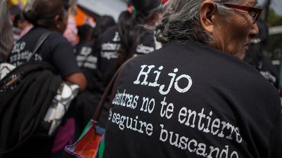 desaparición forzada en México
