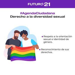 diversidad sexual agenda ciudadana