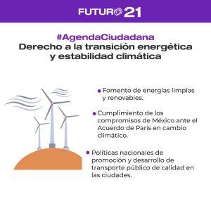 transición energética agenda ciudadana