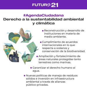 sustentabilidad agenda ciudadana