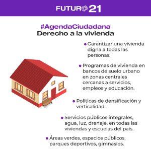 derecho a la vivienda agenda ciudadana