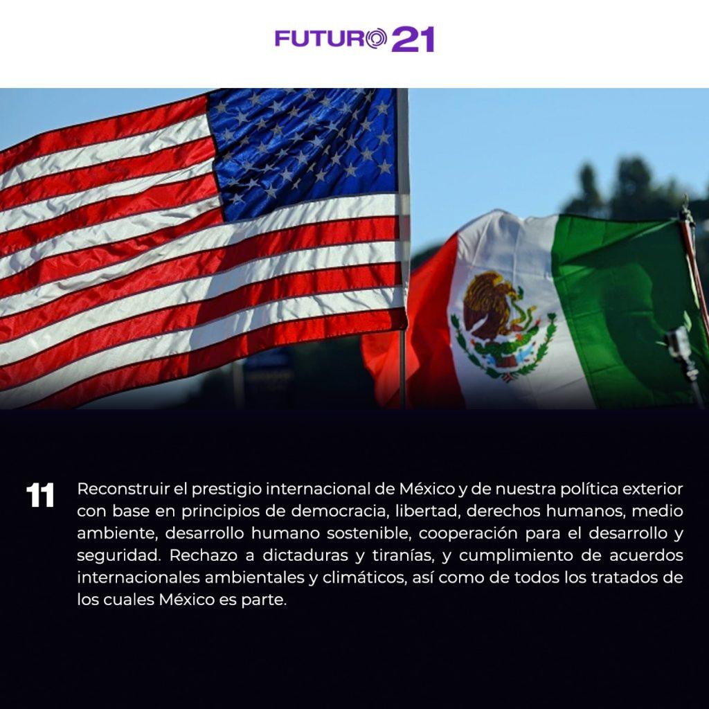 plataforma para reconstruir la política exterior
