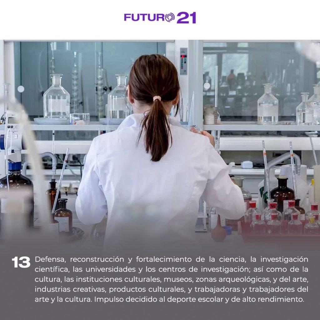 plataforma para defender la ciencia y la investigación