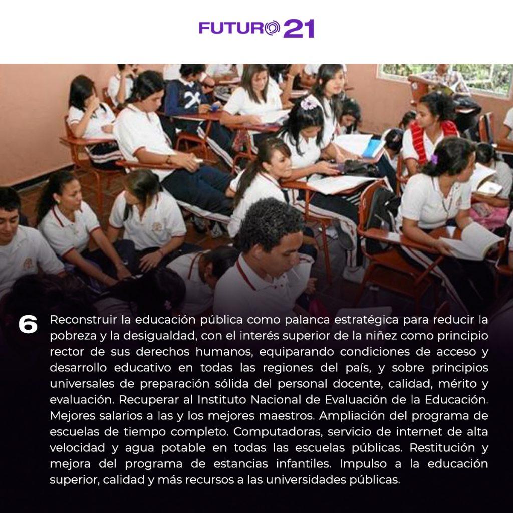 plataforma para mejorar la educación