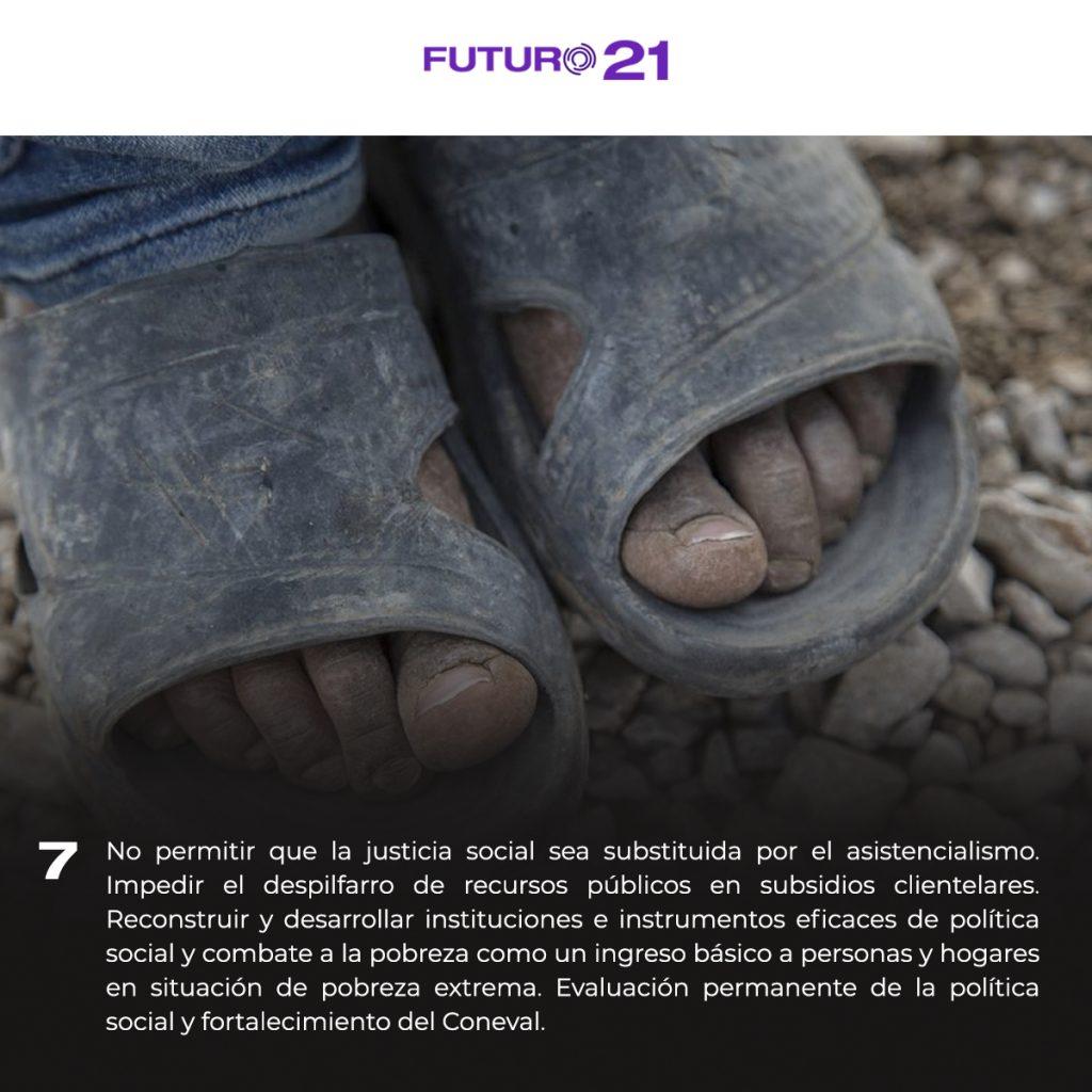 plataforma para erradicar la pobreza