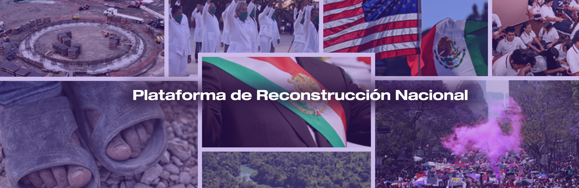 plataforma de reconstrucción nacional Futuro 21