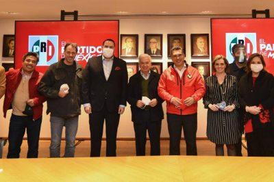 Futuro 21 se reúne con el PRI para reforzar la coalición Va por México